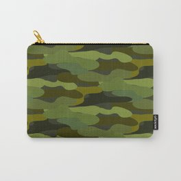 Khaki camouflage Carry-All Pouch