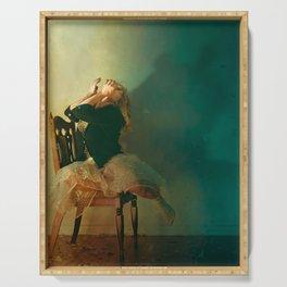 La chaise - Sortir de l'ombre Serving Tray