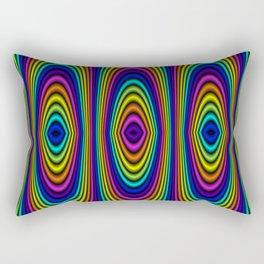 o rainbow Rectangular Pillow