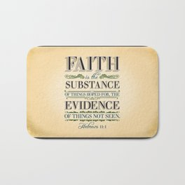 The Substance of Things Hoped for . . . Bath Mat