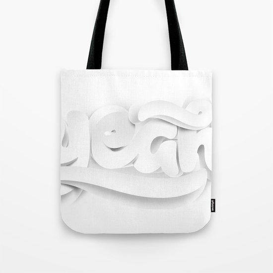 Yeah! — White lettering Tote Bag