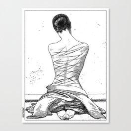 asc 597 - Les amatrices III (Sketchwork) Canvas Print