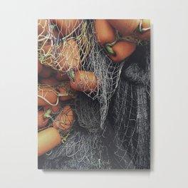 Net Pile III Metal Print
