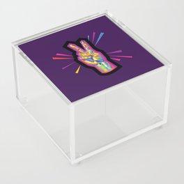 Peace in Dark Times Acrylic Box