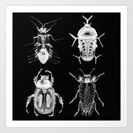 Wild Wild Bugs Art Print
