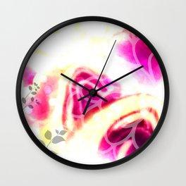 Efflorescence [1] Wall Clock