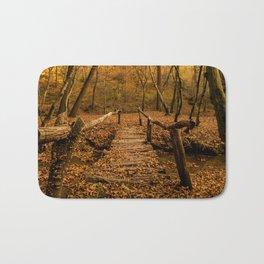 Autumn Colors Forest Bath Mat