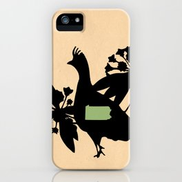 Pennsylvania - State Papercut Print iPhone Case