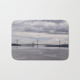 Queensferry and Forth Bridges Bath Mat