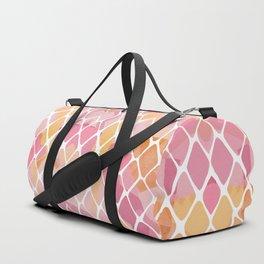 Watercolor Pattern Duffle Bag