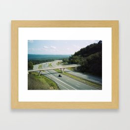 Interstate 68 1 Framed Art Print