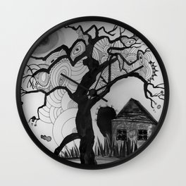 dark tale Wall Clock