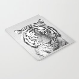 Tiger - Black & White Notebook