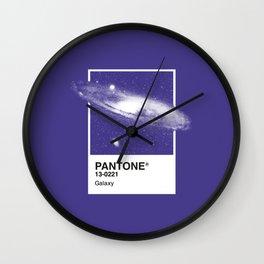 Pantone Series – Galaxy Wall Clock