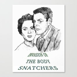 Invasion of the Body Snatchers (1956) Canvas Print