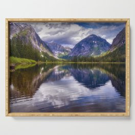 Misty Fiords Lake Serving Tray