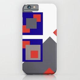Grafik Rectangles III iPhone Case