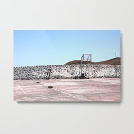 Baseball field Metal Print