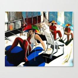 The Recalcitrants Canvas Print