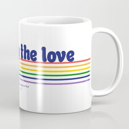 Pump Up The Love - Pride 2018 Coffee Mug