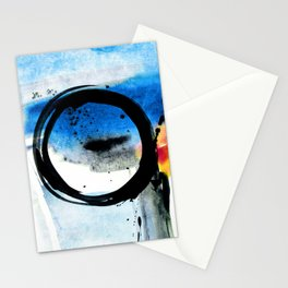 Enso Abstraction o. 113J by Kathy Morton Stanion Stationery Cards