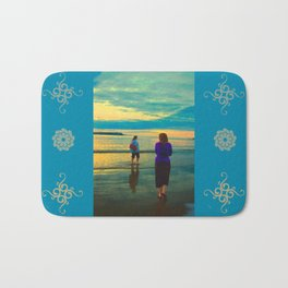Beach Chillaxing Bath Mat