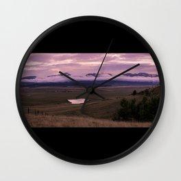 Kenosha Pass Wall Clock
