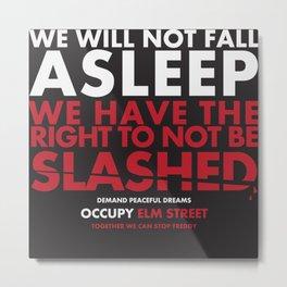 occupy elmstreet Metal Print