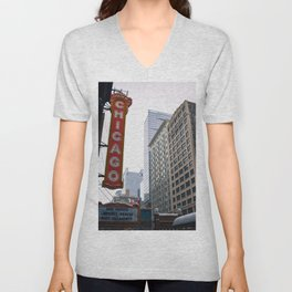 The Windy City Unisex V-Neck