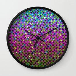 Polka Dot Sparkley Jewels G377 Wall Clock