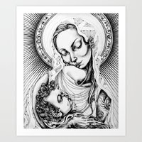 The Mother Art Print