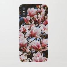 Magnolia iPhone X Slim Case