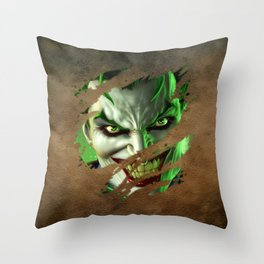 Clown 08 Throw Pillow