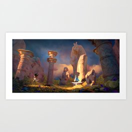 King's Relic Art Print