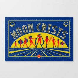 Moon Crisis Canvas Print