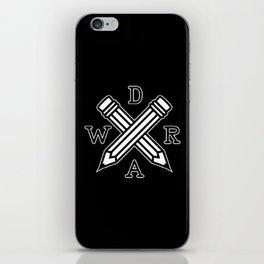 DRAW iPhone Skin