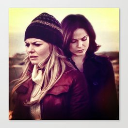 Swan Queen - Lost on Land Canvas Print