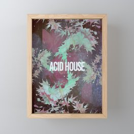 Acid House III Framed Mini Art Print