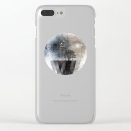TREES over MAGIC MOUNTAINS I Clear iPhone Case