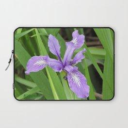 Pale Iris Laptop Sleeve
