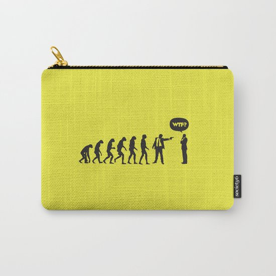 WTF? Evolution! Carry-All Pouch