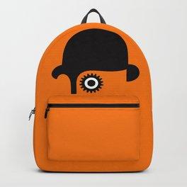 A Clockwork silhouette Backpack
