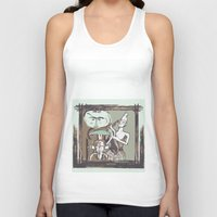 african Tank Tops featuring african by Silvia Gentilini