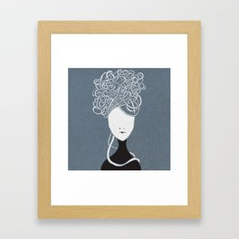 Iconia Girls - Maria March Framed Art Print