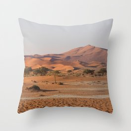 Desert textures - Sossusvlei desert, Namibia #Societ6 Throw Pillow