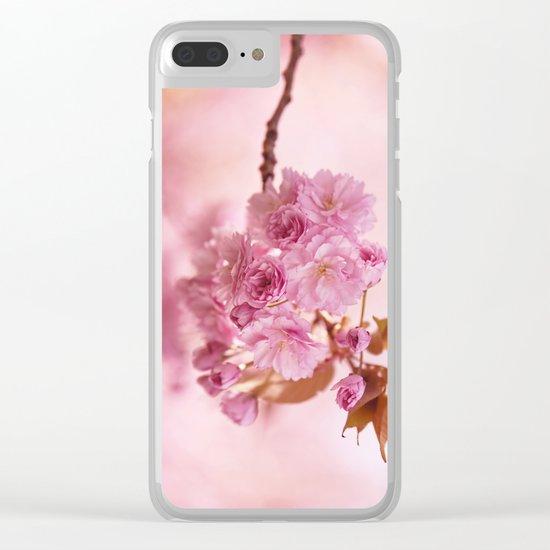 Sakura - Cherryblossom - Cherry blossom - Pink flowers 1 Clear iPhone Case