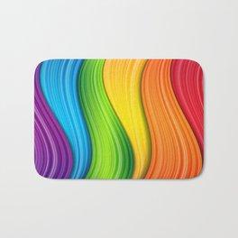 Colorful Rainbow Bath Mat