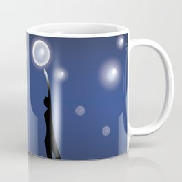 The dark is necessary to see the stars... Coffee Mug