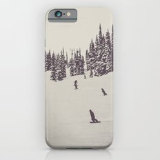 Whistler Snowboarders iPhone 6 Slim Case