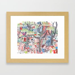 To Market To Market Framed Art Print